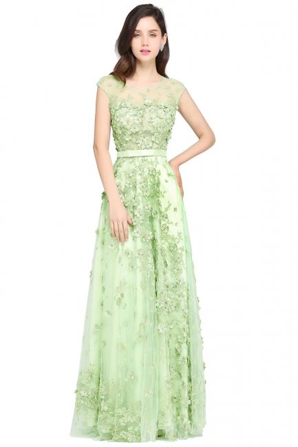 Grüne Abendkleider Lang | Abiballkleider Spitze Günstig