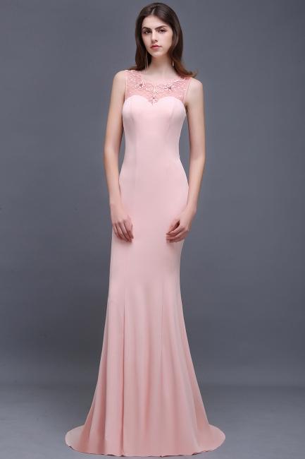 Rosa Abendkleid Lang   Abiballkleider Günstig Online