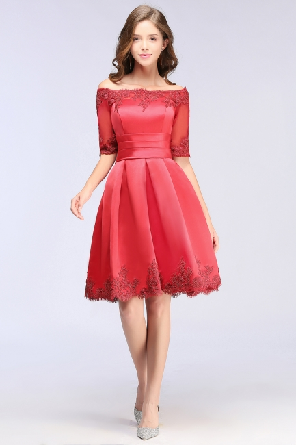 Rote Cocktailkleider Kurz | Abendkleider Günstig