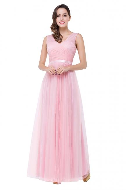 Designer Abenbdkleider Rosa | Schlichtes Abiballkleid Günstig