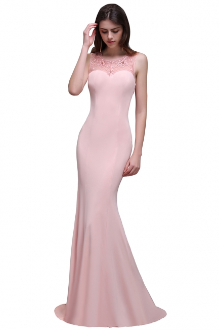Rosa Abendkleid Lang | Abiballkleider Günstig Online
