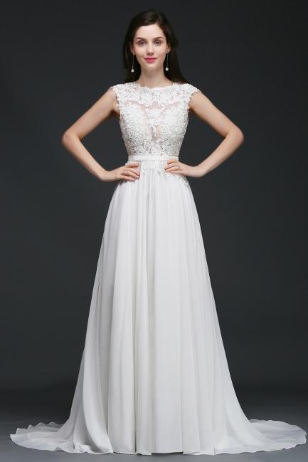 Schlichtes Brautkleid Günstig | Hochzeitskleider A Linie