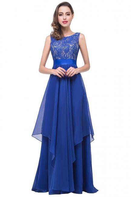 Schlichtes Abendkleid Blau | Abendkleider Lang Günstig