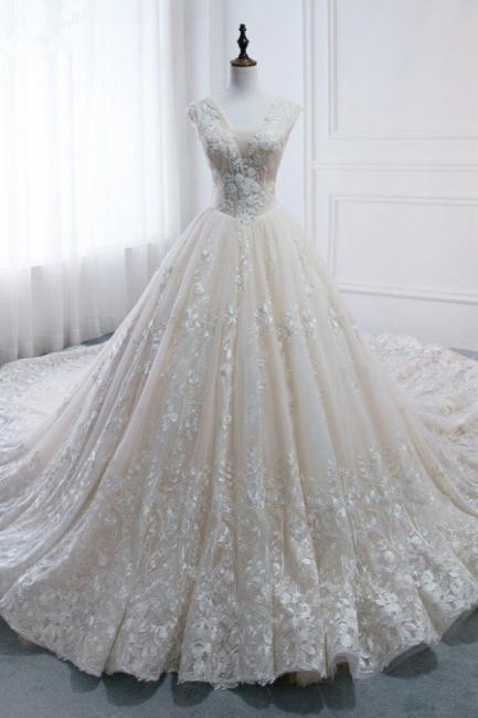 Standesamt Hochzeitskleid | Brautkleider Prinzessin Luxus