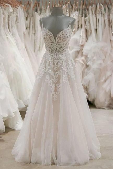 Schlichte Brautkleider A Linie | Hochzeitskleider Online Bestellen