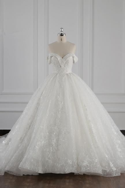 Designer Brautkleider Lange Ärmel | Hochzeitskleid Spitze