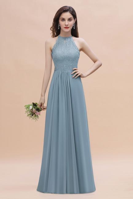 Brautjungfernkleider Lang Blau | Hochzeitspartykleider Günstig Kaufen
