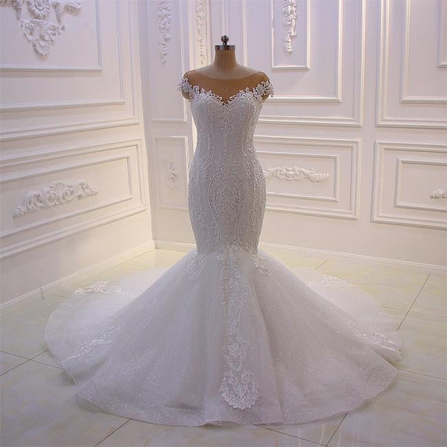 Brautkleider Meerjungfrau Spitze | Hochzeitskleid Umstandsmode