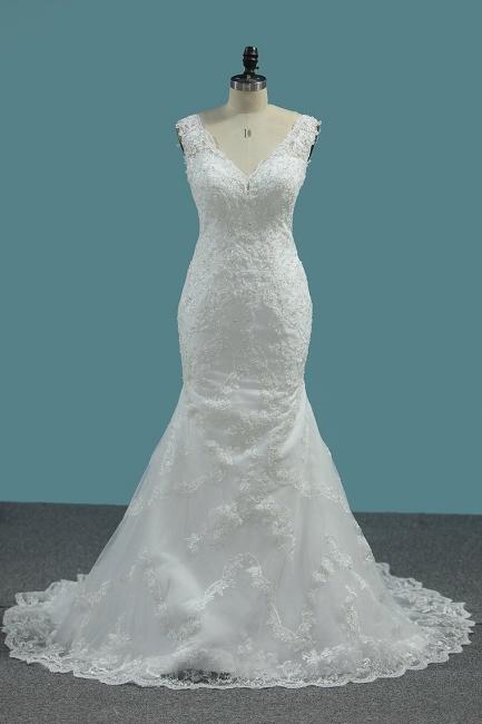 Umstands Hochzeitskleid Meerjungfrau | Brautkleid Spitze Online