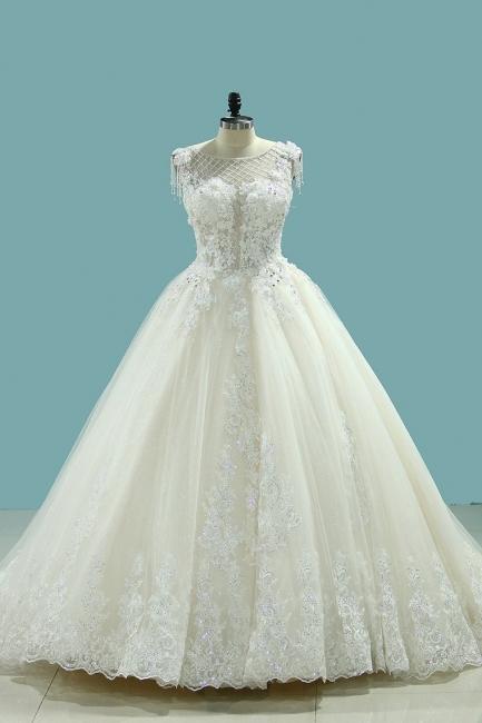 Brautmode Schlicht Elegant | Hochzeitskleider Prinzessin