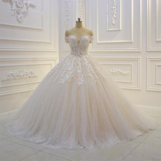 Günstige Hochzeitskleider Prinzessin | Brautkleid Spitze Online