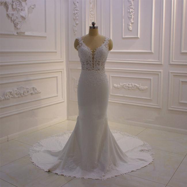 Brautkled Mit Spitze | Hochzeitskleider Meerjungfrau