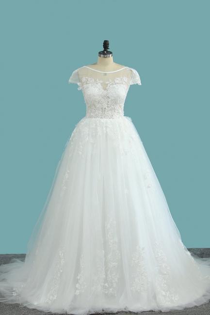 Elegante Hochzeitskleid A Linie   Günstige Brautkleider