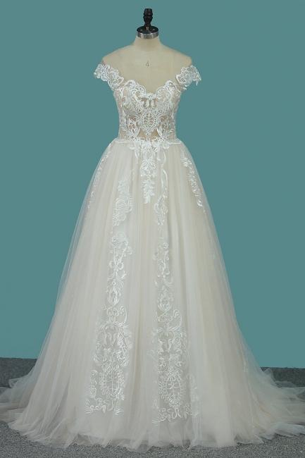 Elegante Hochzeitskleider A linie | Brautkleid online Kaufen