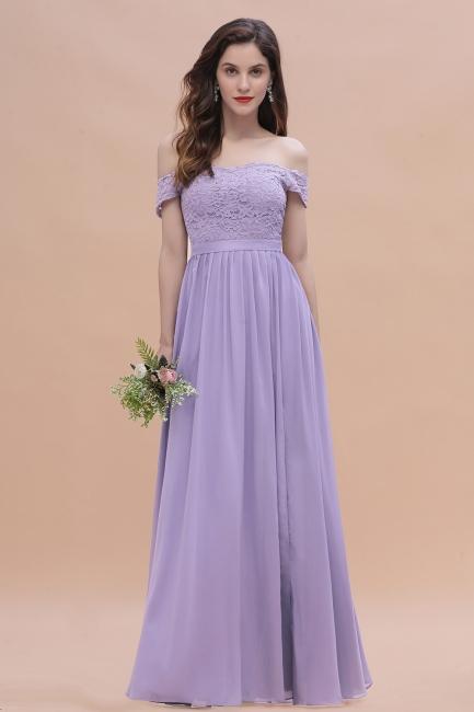 Schicke Brautjungfernkleider Lavender | Brautjungfernkleid Günstig