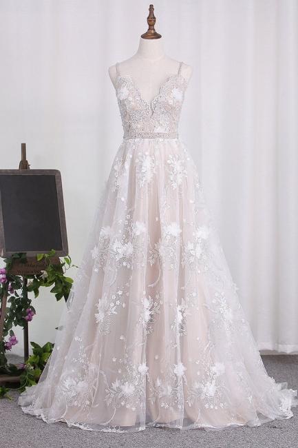 Brautkleid A Linie   Hochzeitskleider Spitze Günstig