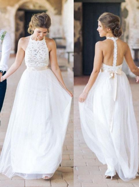 Designer Weiße Etuikleid Hochzeitskleider Brautmoden | Brautkleider Strand Mit Spitze
