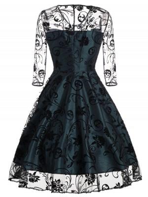 Schwarze Abendkleider Kurz | Cocktailkleider mit Spitze_6