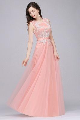 Rosa Abendkleider Lang Günstig | Abendmoden Online_4