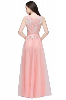 Rosa Abendkleider Lang Günstig | Abendmoden Online_7