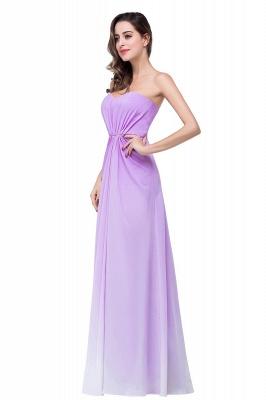 Lavender Abendkleider Lang Günstig   Schlichtes Abiballkleid_7