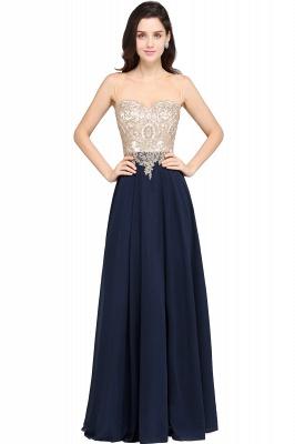 Designer Abendkleider Lang | Abiballkleider Günstig Dunkel Blau