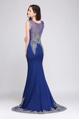 Abendkleider Lang Blau | Abiballkleider mit Glitzer_3