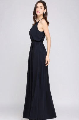 Schlichte Damenmoden   Chiffon Kleider Abendkleider Lang_14