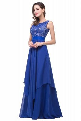 Schlichtes Abendkleid Blau | Abendkleider Lang Günstig_7