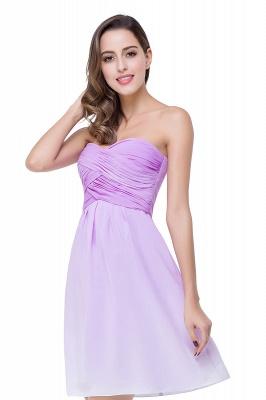 Lavender Cocktailkleider kurz | Schlichtes Abendkleid Online_7