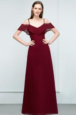 Schlichtes Abendkleid Rot   Festliche kleider Online_7