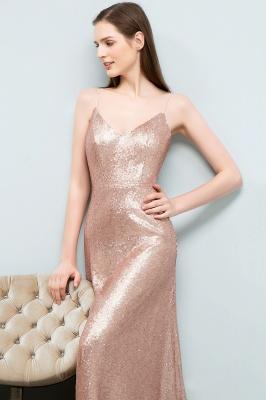Rosa Gold Abendkleider Lang | Brautjungfernkleider Online_7
