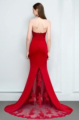 Abendkleider Lang Rot   Abiballkleider Mit Spitze_2