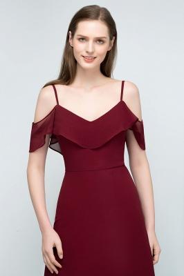 Schlichtes Abendkleid Rot   Festliche kleider Online_9