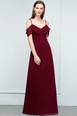 Schlichtes Abendkleid Rot   Festliche kleider Online_11
