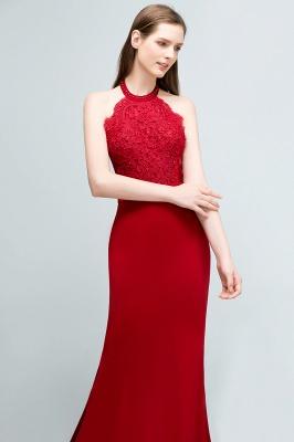 Abendkleider Lang Rot   Abiballkleider Mit Spitze_4