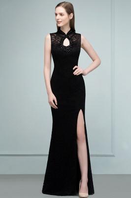 Schwarzes Abendkleid Lang | Abiballkleider Günstig_11