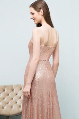 Rosa Gold Abendkleider Lang | Brautjungfernkleider Online_6
