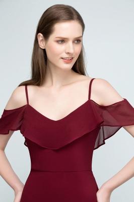 Schlichtes Abendkleid Rot   Festliche kleider Online_10