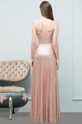 Rosa Gold Abendkleider Lang | Brautjungfernkleider Online_3