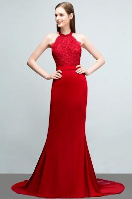 Abendkleider Lang Rot   Abiballkleider Mit Spitze_1