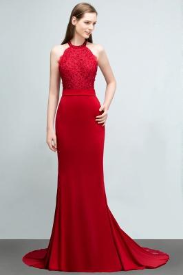 Abendkleider Lang Rot   Abiballkleider Mit Spitze_3