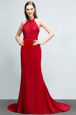 Abendkleider Lang Rot   Abiballkleider Mit Spitze_6