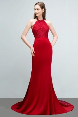 Abendkleider Lang Rot   Abiballkleider Mit Spitze_5