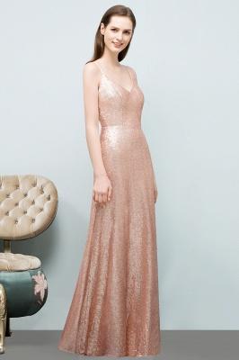 Rosa Gold Abendkleider Lang | Brautjungfernkleider Online_4