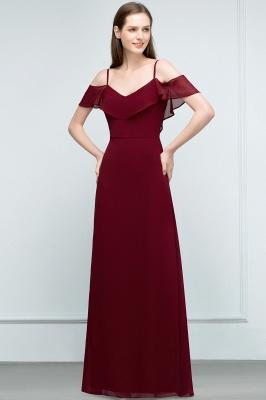 Schlichtes Abendkleid Rot   Festliche kleider Online_8