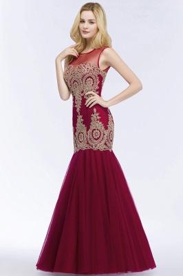 Weinrot Abendkleider Lang Günstig | Abiballkleider Online Kaufen_5