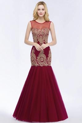 Weinrot Abendkleider Lang Günstig | Abiballkleider Online Kaufen_1