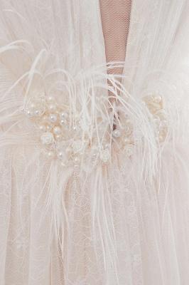 Umstands Hochzeitskleid Schlicht | Brautkleider A Linie_13