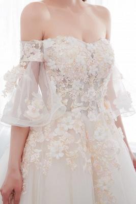 Hochzeitskleider Prinzessin Luxus   Brautkleider mit Ärmel_9